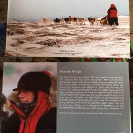Michelle's 1,000 mile sled dog journal
